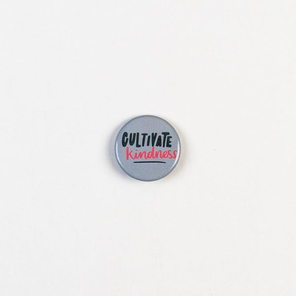 Kindness Button Pin