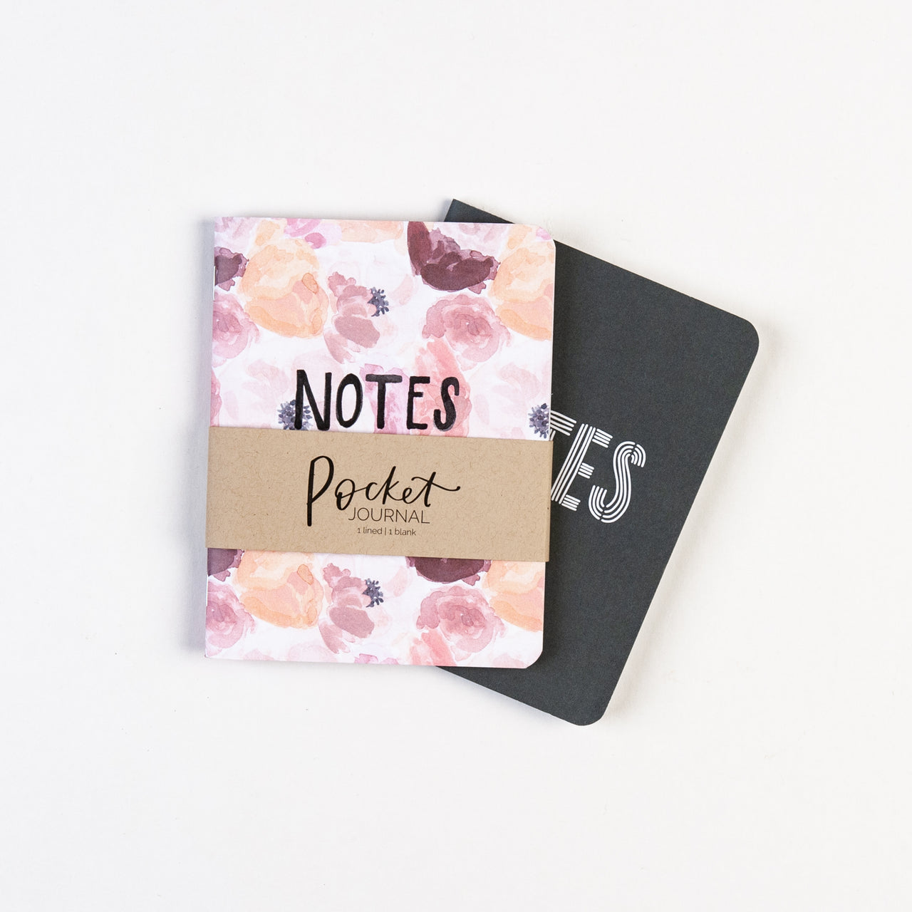 Floral Pocket Journal, Set of 2