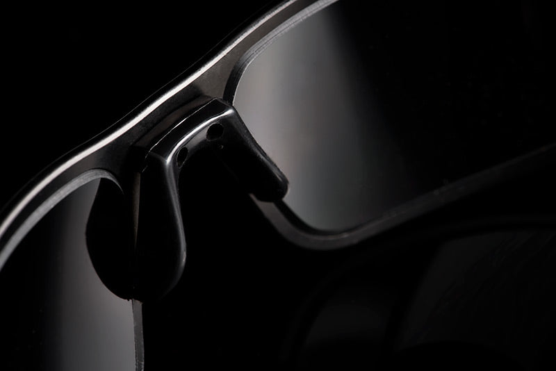 Nosepiece detail of Gatorz eyewear