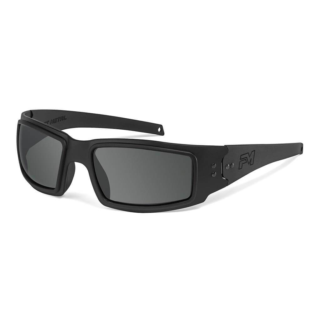 Fast Metal Speed Demon Sunglasses Black Smoke