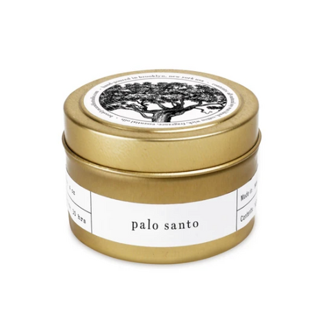 Palo Santo Travel Candle