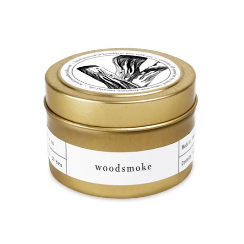 Woodsmoke Travel Candle