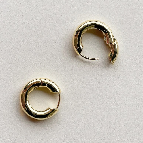 Machete Chunky Hoops (gold & silver)