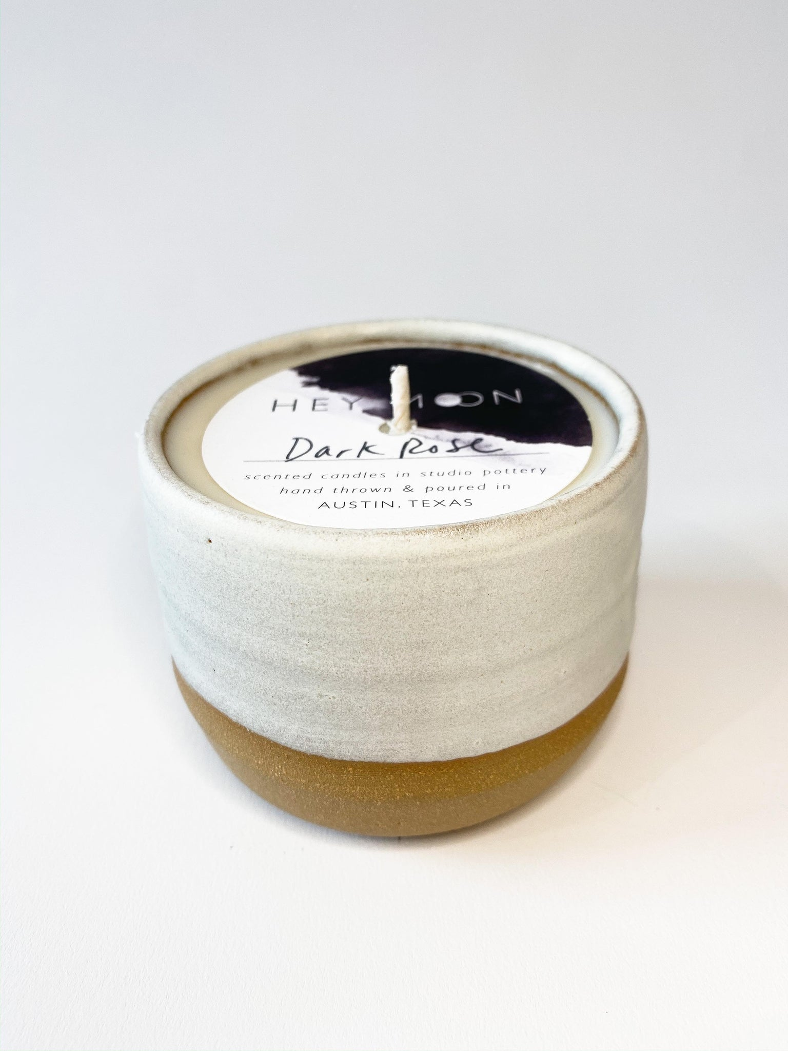 Dark Rose Vessel Candle