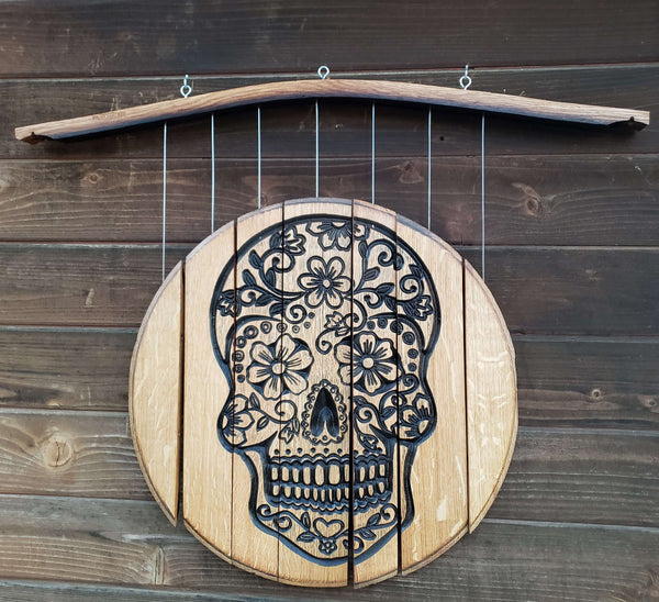 Wind Chime-Sugar Skull 5