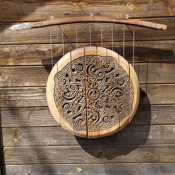 Wind Chime- Peace, Moon, Stars