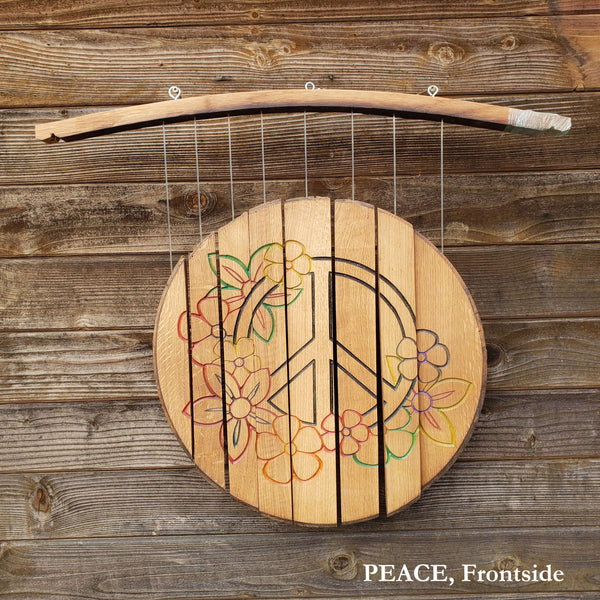 Wind Chime, Peace, Double Sided