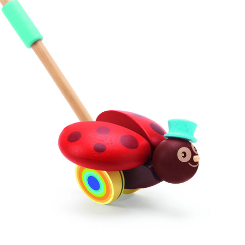 Djeco Push Along Toy Clac Clac Charlie