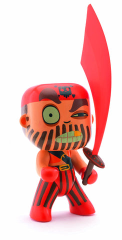 Djeco Arty Toys Captain Red Pirate