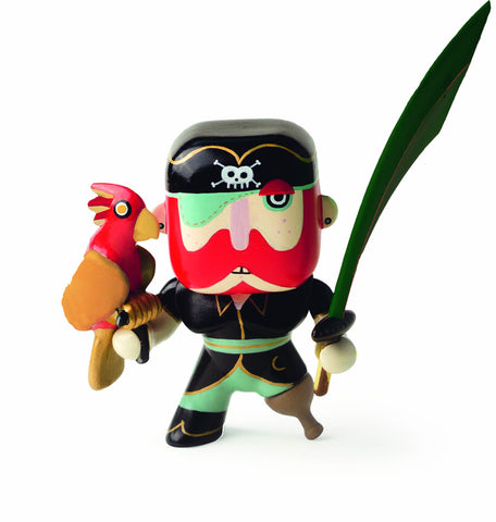 Djeco Arty Toys Sam Parrot Pirate