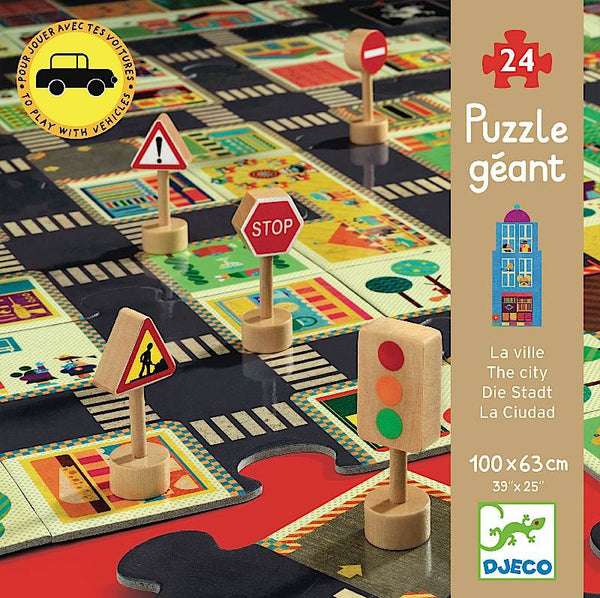 Djeco City Giant Puzzle