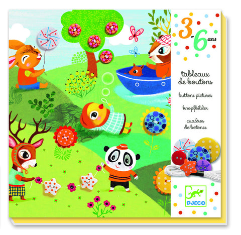 Djeco The Four Seasons Button Pictures