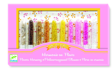 Djeco Flowers Harmony Bead Set