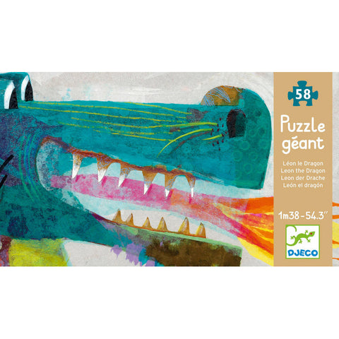 Djeco Giant Puzzle Leon the Dragon DJ07170