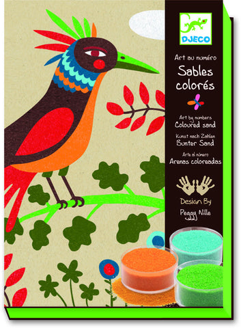 Djeco Coloured Sands Birds of Paradise