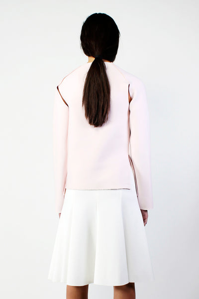 Neoprene Sweatshirt - Light Pink