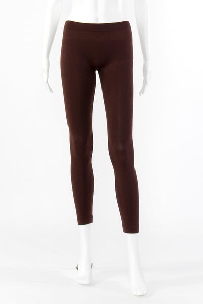 Essential Long Legging - Brown