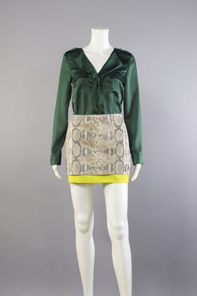 Madame Félix Blouse - Emerald
