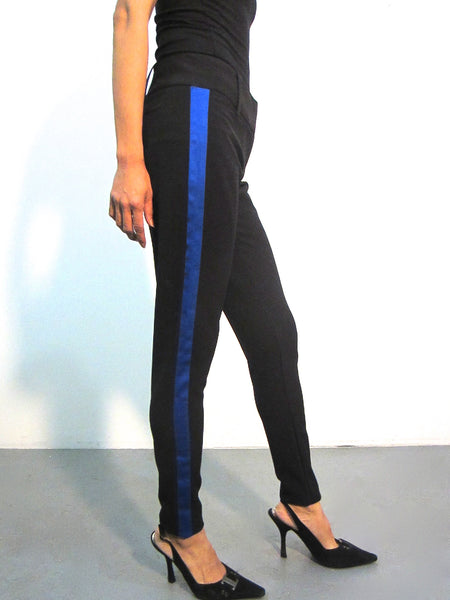 Tuxedo Trousers - Royal Blue