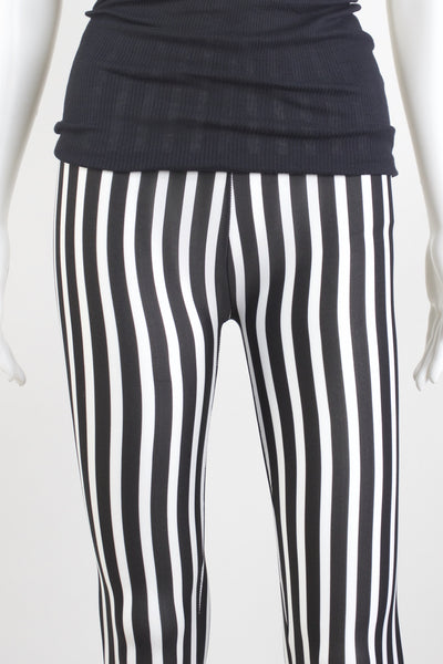Striped Printed Leggings LG 010