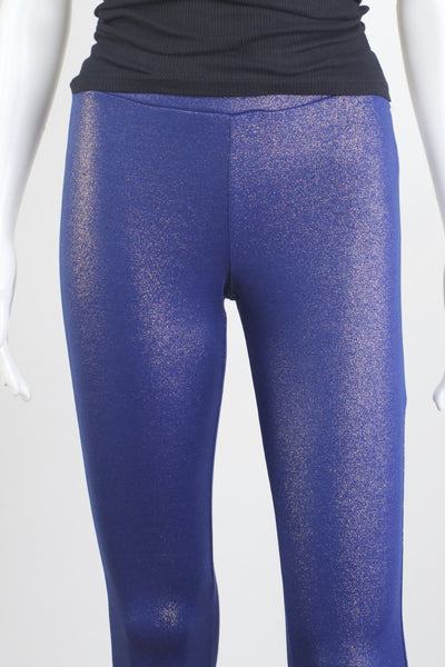 Glitter Leggings - Tanzanite Blue