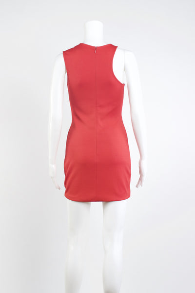 Contrasting Color Contour Dress