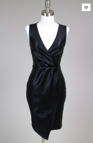 Into the Night Dress - Black