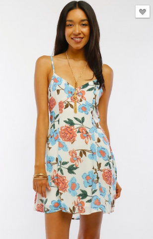 Nantucket A-line Floral Dress