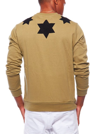 Six Point Star Crew Neck Sweater
