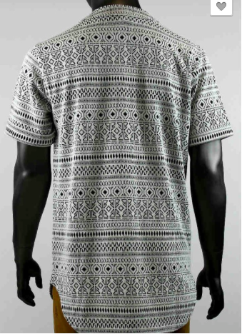 Tribal Zipper Tee