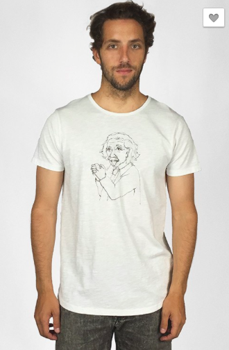 Einstein printed Ted