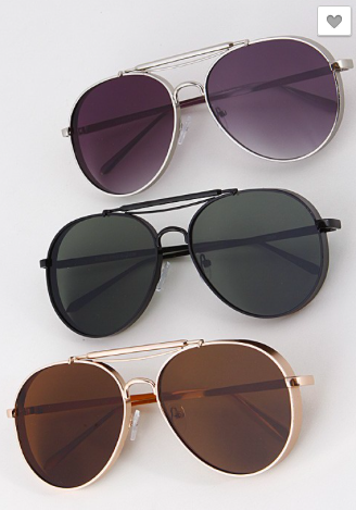 ***Aviator Inspired Sunglass