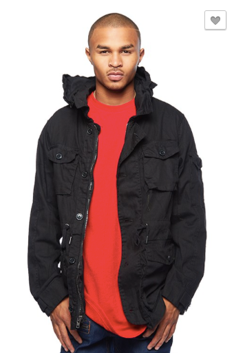 Cargo Jacket W/ Transitions Hood