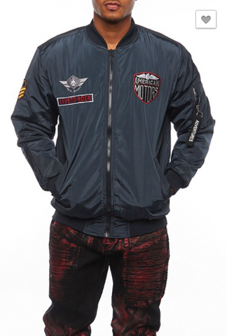 *American Motors Patch Bomber Jacket