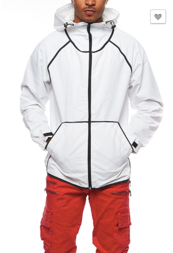 Windbreaker Hood Jacket