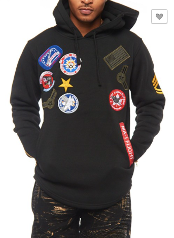 *Air-force MA-1 Flight Fleece Hoodie