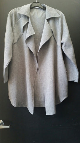 Lightweight Drape Open Coat