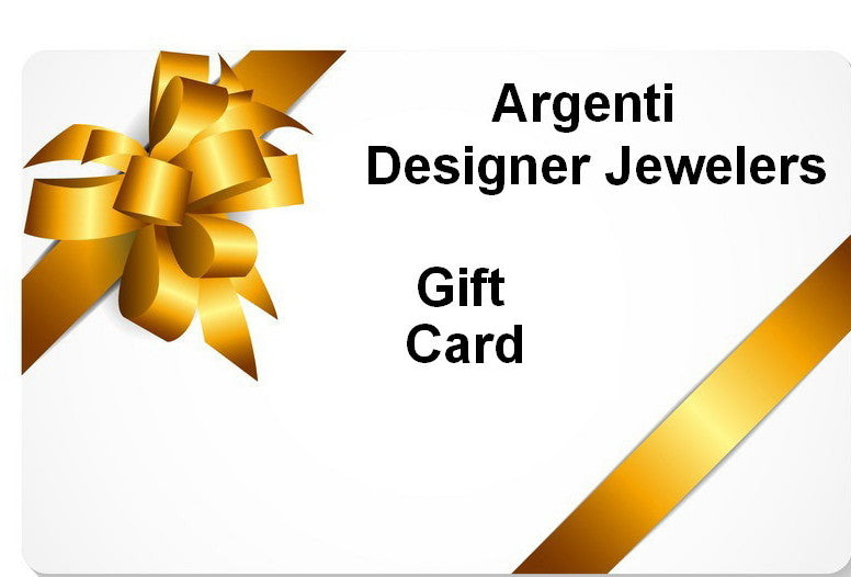 Argenti Designer Jewelers Gift Card