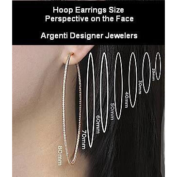 Tresser Hoop Earrings