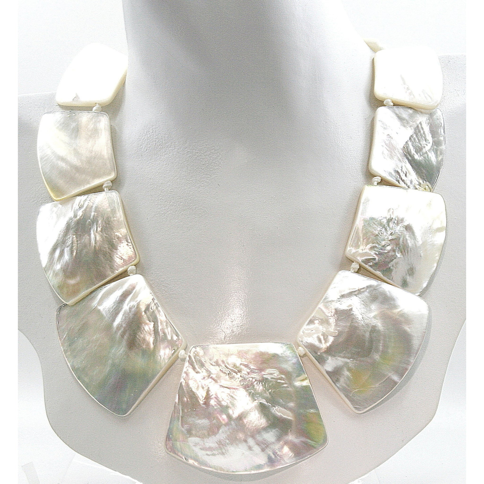 Luxe Mother of Pearl Necklace