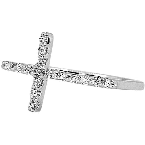 Faith Cross Ring