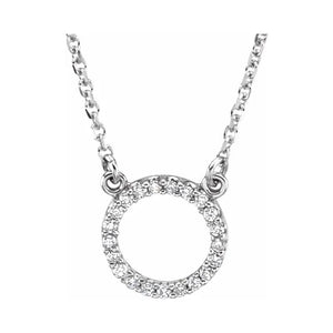 Diamond Circular Necklace