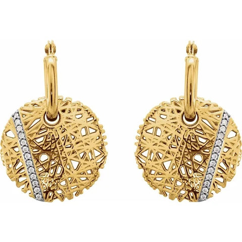Diamond Nest Earrings