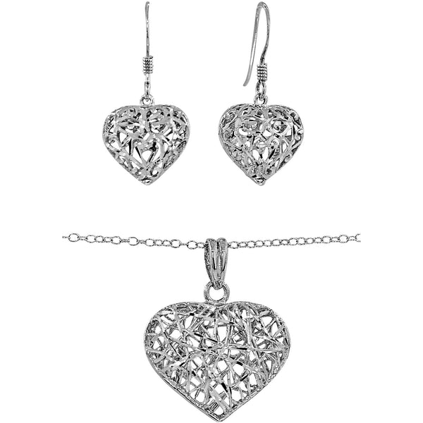 Le Teuf Necklace & Earring Set