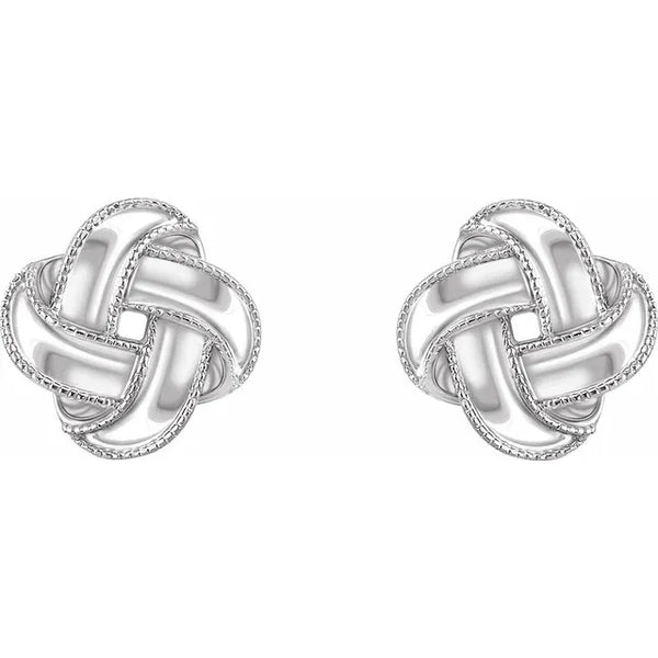 Lavish Knot Earrings