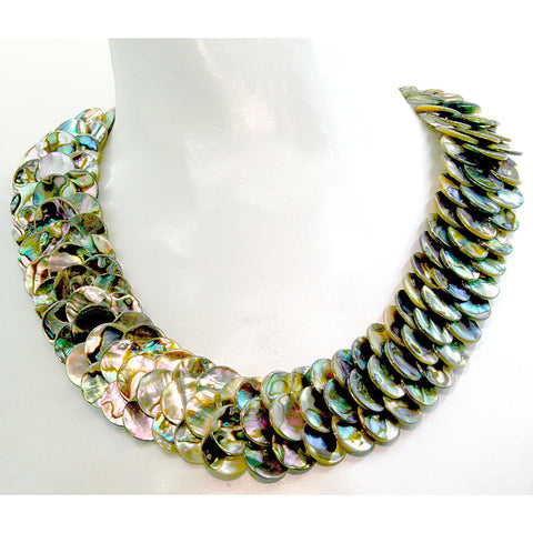 Coquille Abalone Necklace