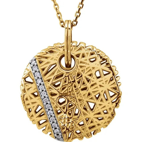 Diamond Nest Necklace