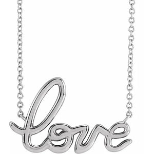 Mon Amour... Love Necklace