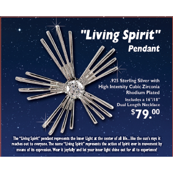 Living Spirit Necklace - argentidesignerjewelers