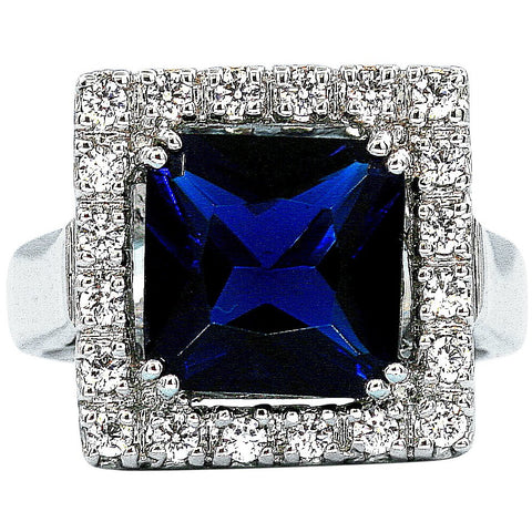 Bleu Diamant Ring